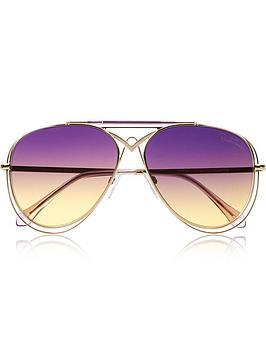 roberto-cavalli-civitella-violet-gradient-aviator-sunglasses-purplegold
