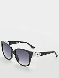 guess-guess-black-smoke-mirror-square-sunglasses