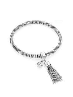 buckley-london-limited-edition-silver-plated-mesh-stretch-tassel-bracelet