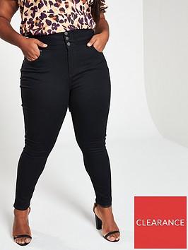 v-by-very-curve-high-waist-supersoft-skinny-jeans-black