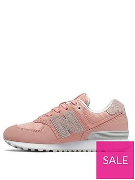 new-balance-574-junior-trainers-pinkwhite
