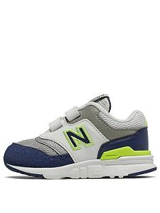 new arrival 7e8cd 460b1 New Balance 997 Infant Trainers - White