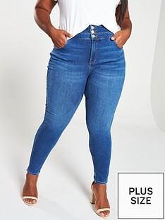 v-by-very-curve-high-waist-supersoft-skinny-jeans-indigo