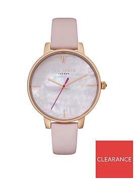 ted-baker-ted-baker-mother-of-pearl-and-gold-detail-dial-pink-leather-strap-ladies-watch