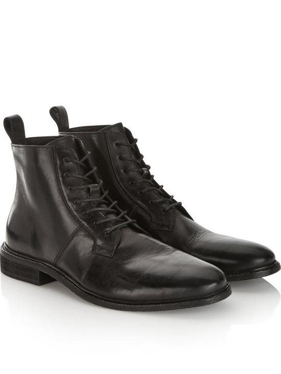 c519161b485 Men's Leven Leather Boots - Black
