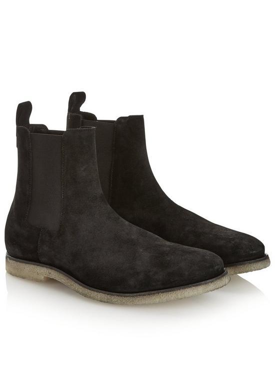 5de2c02af8b Men's Reiner Suede Chelsea Boots - Black