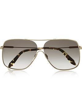 victoria-beckham-loop-navigator-galaxy-sunglasses-gold