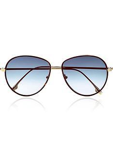 victoria-beckham-fine-wind-rim-aviator-sunglasses-tortnbsp