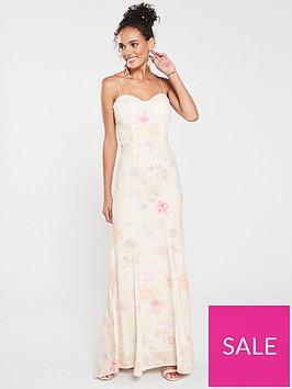 jarlo-jarlo-soleil-floral-printed-fishtail-maxi-dress
