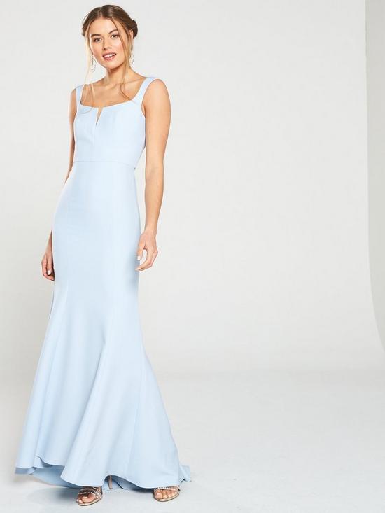 d241fac670d Jarlo Skylar Square Neck Maxi Dress
