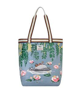 cath-kidston-disney-jungle-book-extra-large-canvas-tote-blue