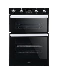 belling-bel-bi902fp-90cm-built-in-electric-double-oven-black