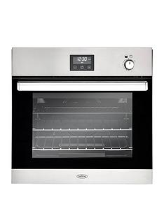 belling-bel-bi602g-60cm-built-in-single-gas-oven-stainless-steel