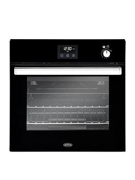 belling-bel-bi602g-60cm-built-in-single-gas-oven-black