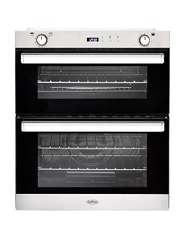 belling-bel-bi702g-70cm-built-in-gas-double-oven-stainless-steel
