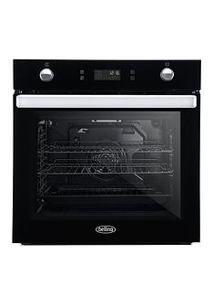 belling-bel-bi602mfpy-60cm-built-in-equiflow-single-electric-oven-with-pyrolytic-cleaning-black