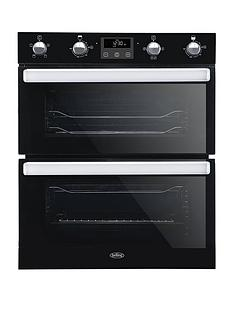 belling-bel-bi702fp-70cm-built-in-electric-double-oven-black