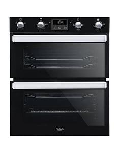 belling-bel-bi702fpct-70cm-built-in-electric-double-oven-with-bluetooth-connectivity-stainless-steel