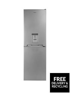 Candy CVS 1745SWDK 55cm Wide Fridge Freezer with Water Dispenser - Silver