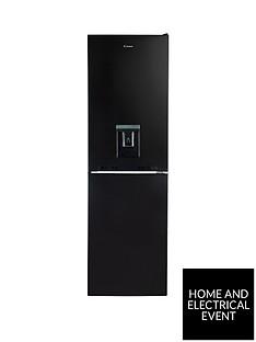 candy-cvs-1745bwdk-55cm-wide-fridge-freezer-with-water-dispenser-black