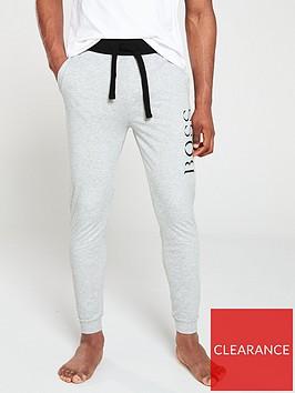 boss-bodywear-authentic-cuffed-lounge-pant-grey