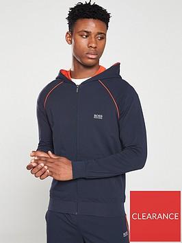 boss-bodywear-lightweight-hooded-zip-lounge-top-navy