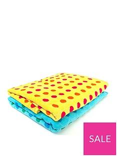 downland-spot-beach-towel-pair