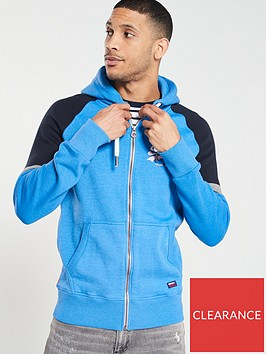 superdry-vintage-logo-1st-raglan-zip-through-hoodienbsp--royal-marl