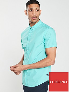 superdry-international-poplin-short-sleeve-shirt-blue