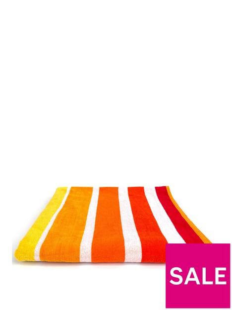 downland-sun-stripe-beach-towel