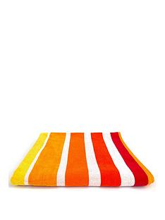 downland-sun-stripe-beach-towel