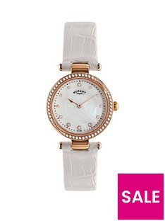 rotary-rotary-mother-of-pearl-crystal-set-dial-white-leather-strap-ladies-watch