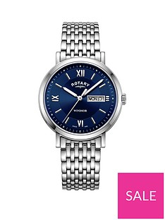 rotary-rotary-windsor-blue-sunray-daydate-dial-stainless-steel-bracelet-mens-watch