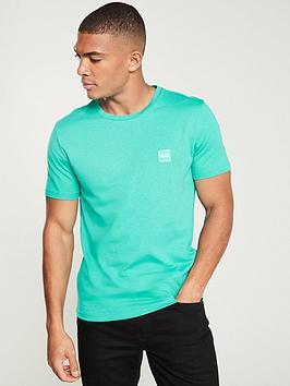 boss-tales-small-logo-t-shirt-green