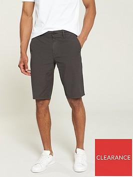 boss-slim-fit-chino-shorts-charcoal