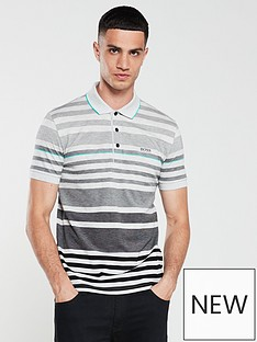 boss-striped-pique-polo-shirt-greyblack