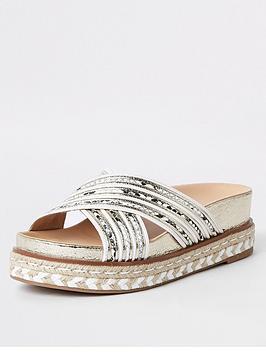 river-island-river-island-strap-flatform-sandal-white