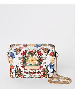river-island-river-island-floral-print-boxy-cross-body-bag-white