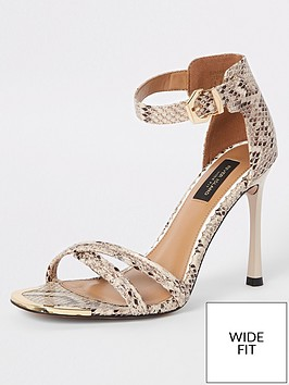 river-island-river-island-wide-fit-barely-there-heeled-sandals-snake
