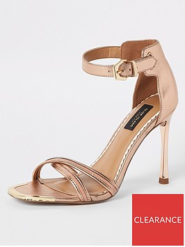 river-island-river-island-wide-fit-barely-there-heeled-sandals-gold