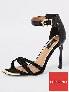 river-island-river-island-wide-fit-barely-there-heeled-sandals-black