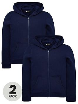 v-by-very-unisex-2-pack-basic-hoodies-navy