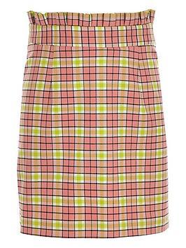 river-island-girls-check-a-line-skirt-pink