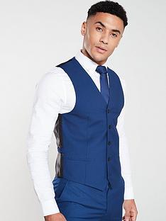 v-by-very-suitnbspwaistcoat-blue