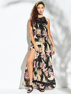 river-island-river-island-printed-beach-maxi-dress-black