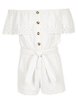 river-island-girls-broderie-bardot-playsuit-white
