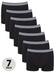 v-by-very-seven-pack-trunks-black