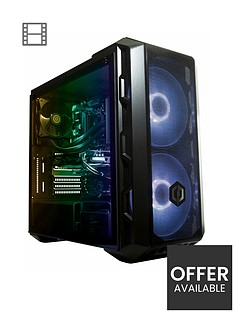 Cyberpower Gaming Intel i7 8700, Nvidia RTX 2080, 16GB RAM, 2TB HDD + 240GB SSD Gaming PC with RGB lighting