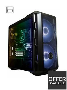 Cyberpower Gaming Intel i7 8700, Nvidia RTX 2080, 16GB RAM, 2TB HDD + 240GB SSD Gaming PC with RGB lighting