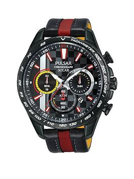 pulsar-pulsar-m-sport-limited-edition-black-with-red-and-yellow-detail-chronograph-dial-black-and-red-leather-strap-mens-watch